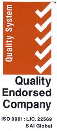 ISO Quality Endorsed Company