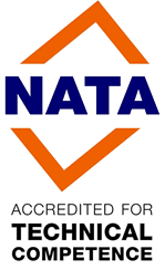 NATA Accredited for Technical Excellence